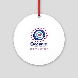 'Oceanic Airlines Crew' Ornament (Round)