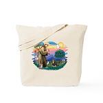 St Francis #2 / Cavalier (BT) Tote Bag