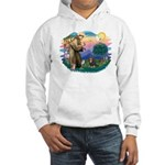 St Francis #2 / Cavalier (BT) Hooded Sweatshirt