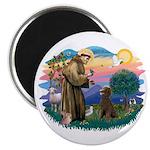 St Francis #2 / Poodle (ST-Ch) Magnet