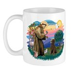 St Francis #2 / Poodle (ST-Ch) Mug