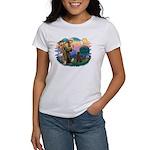 St Francis #2 / Poodle (ST-Ch) Women's T-Shirt