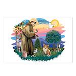 St. Francis #2 / Corgi (Pem) Postcards (Package of