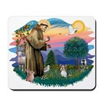 St Francis #2 / Yorkie (Brewer) Mousepad