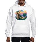 St Francis #2 / Wheaten Hooded Sweatshirt