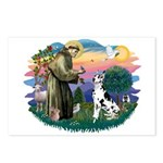 St Francis #2 / Great Dane (H) Postcards (Package