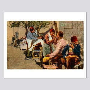 Ottoman Barbers Small Poster