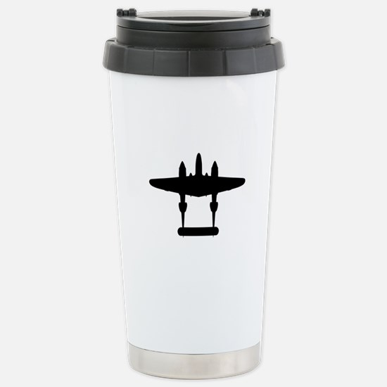 Plane Apparel and Gifts Stainless Steel Travel Mug