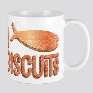 Mmm Fish Biscuits Mug