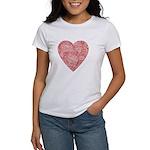 Red Scribble Women's T-Shirt
