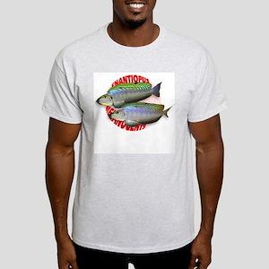 Melanogenys Ash Grey T-Shirt