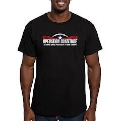 Operation Gratitude Men's Fitted T-Shirt (dark)