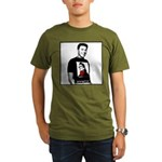 Reagan Supports Palin Organic Men's T-Shirt (dark)