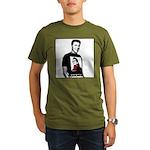 Reagan Supports Palin Organic Men's T-Shirt (dark)