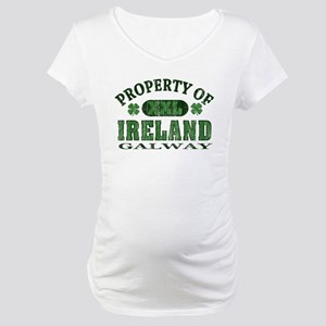 Property of Galway Maternity T-Shirt