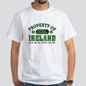 Property of Galway White T-Shirt