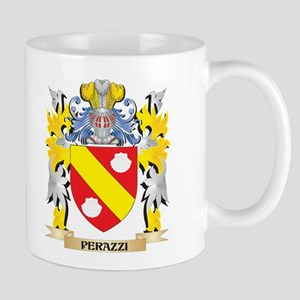 Perazzi Family Crest - Coat of Arms Mugs