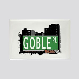 Goble Pl, Bronx, NYC Rectangle Magnet