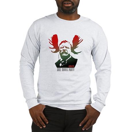 Bull Moose Party Long Sleeve T-Shirt