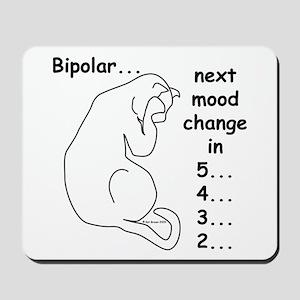 Bipolar Countdown C Mousepad