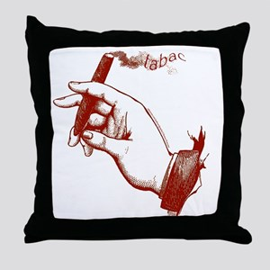 Tabac Cigars Throw Pillow