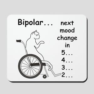 Bipolar Countdown F Mousepad