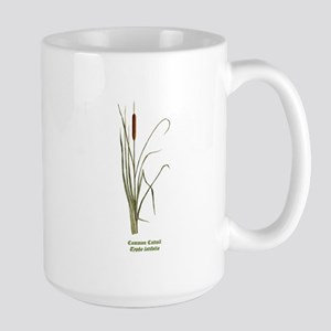 Common Cattail Large Mug