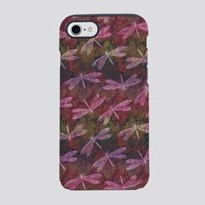 Late Summer Dragonfly Pattern iPhone 7 Tough Case