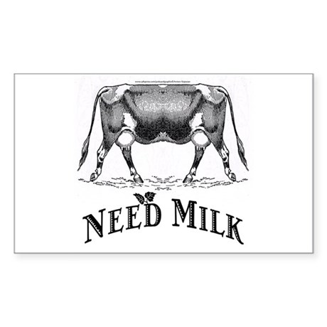 Need Milk Sticker (Rectangle)