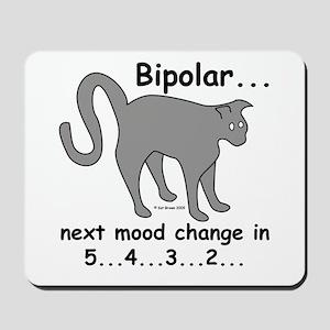 Bipolar Countdown I Mousepad