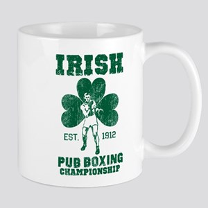 Irish Pub Boxing Mug