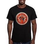 Rise Up Revolution Men's Fitted T-Shirt (dark)