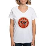 Rise Up Revolution Women's V-Neck T-Shirt