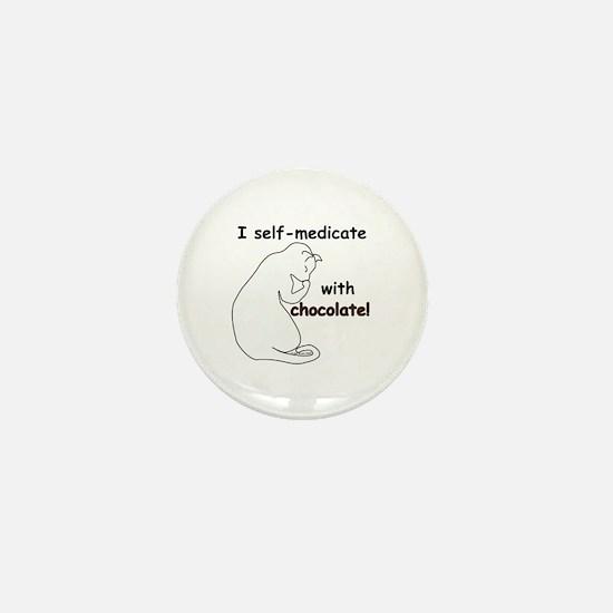 Medical Chocolate B Mini Button