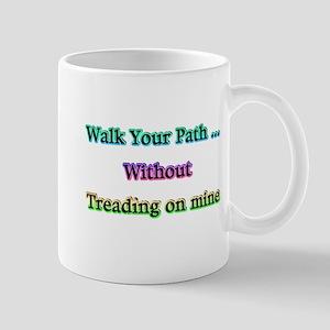 Walk Your Path Mug