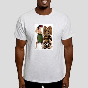 Wahine and Tiki Light T-Shirt