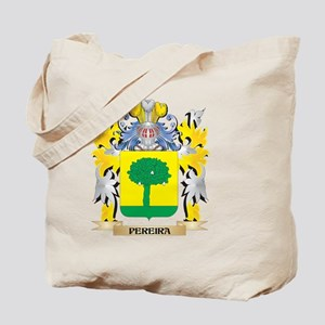 Pereira Family Crest - Coat of Arms Tote Bag
