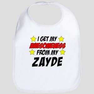 Awesomeness From Zayde Baby Bib