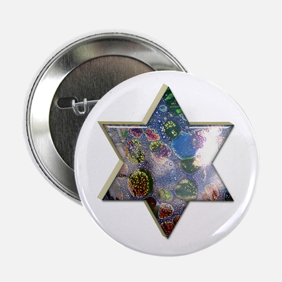 "Jewish Star 2.25"" Button"