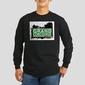 Grand Concourse, Bronx, NYC Long Sleeve Dark T-Shi