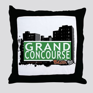 Grand Concourse, Bronx, NYC Throw Pillow