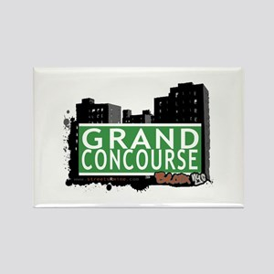 Grand Concourse, Bronx, NYC Rectangle Magnet