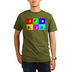 Andy Warhola Bagels Organic Men's T-Shirt (dark)