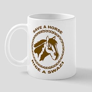 Ride A Swazi Mug