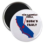 "Bush's Fault 2.25"" Magnet (100 pack)"