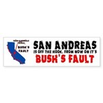 Bush's Fault Sticker (Bumper 50 pk)