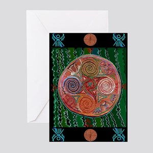 Neolithic Mandala Plus Greeting Cards (Pk of 20)