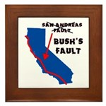 Bush's Fault Framed Tile