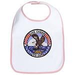 USS CHARR Cotton Baby Bib