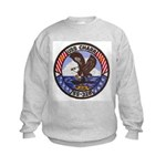 USS CHARR Kids Sweatshirt